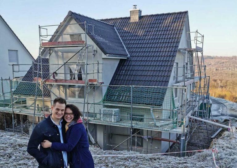 Heinz von Heiden - 50.000ste Baufamilie