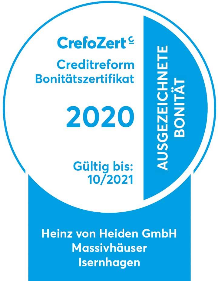 Auszeichnung Kreditreform 2021 - Heinz von Heiden